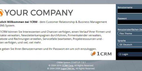 Corporate CRM: Ihr Logo. Ihr Design. Ihre Firmen-Software.