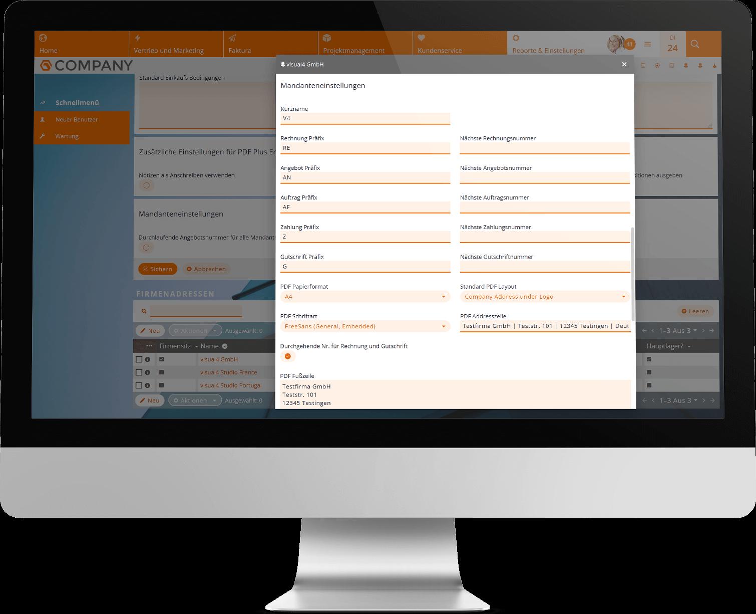 Mehrere Firmen im CRM mit der CRM-Mandant-Erweiterung verwalten