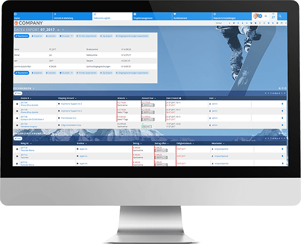 DATEV-Export in der Mitgliederverwaltung