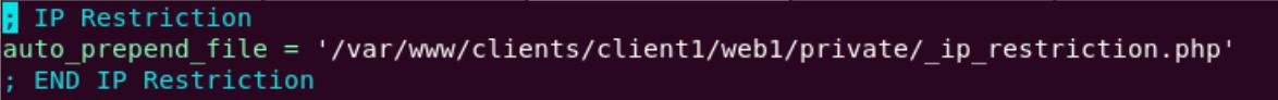 Zugriffe auf PHP-Dateien einschränken und diese Datei vor allen anderen Skripten laden