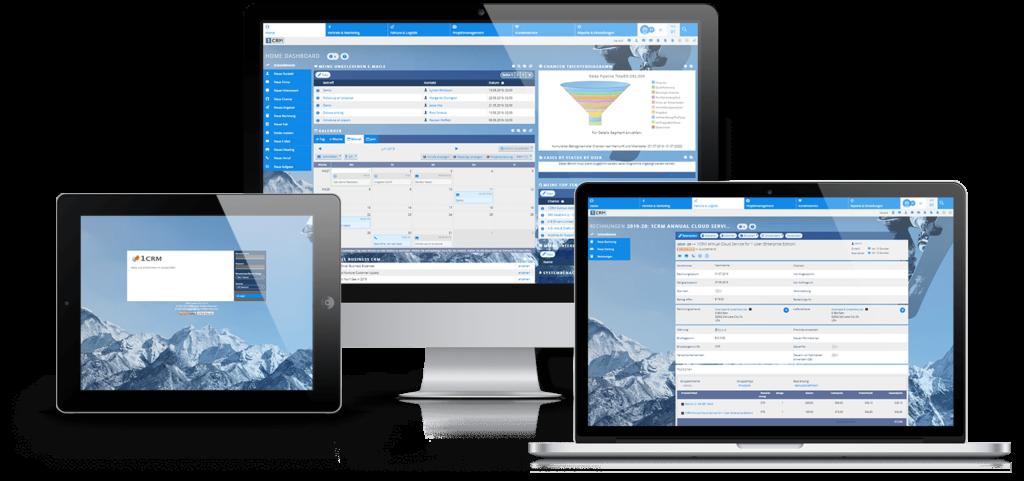 Responsive CRM-Software - Mitgliederverwaltung