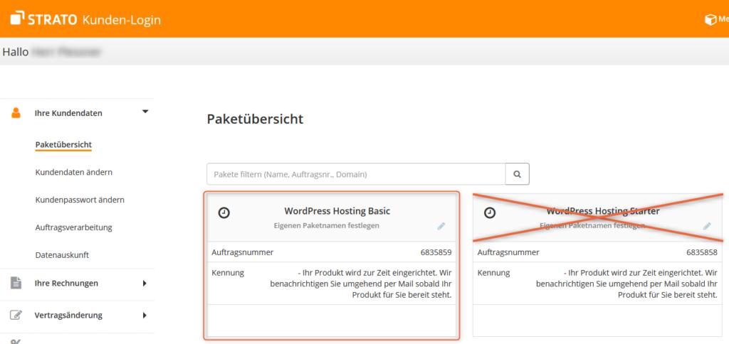 Webhosting STRATO Basic im Test